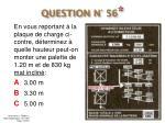 question n 56
