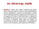 art 256 bis d lgs 152 06