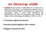 art 256 bis d lgs 152 067