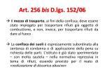 art 256 bis d lgs 152 069