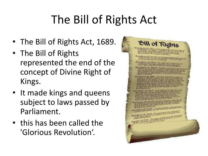 the concepts of being an american in the bill of rights