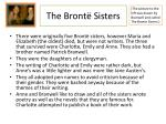 the bront sisters