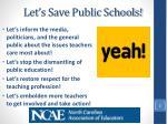 let s save public schools