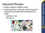 keyword phrases