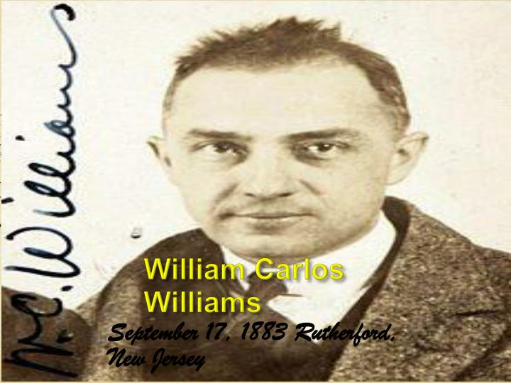 william carlos williams n.