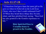 acts 11 17 18
