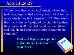 acts 14 26 27