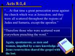 acts 8 1 4