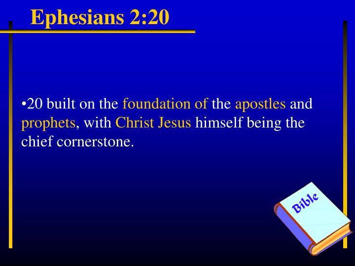 Ephesians 2:20