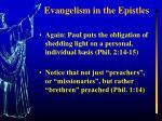 evangelism in the epistles1