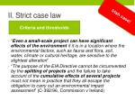 ii strict case law3