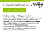 iii implementation issues3