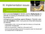 iii implementation issues4
