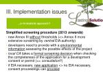 iii implementation issues6