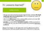iv lessons learned2