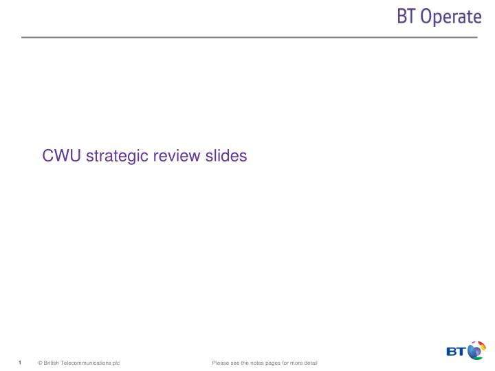 cwu strategic review slides n.