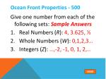 ocean front properties 5001