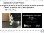 exploiting physics