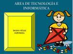 area de tecnolog a e inform tica