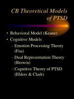cb theoretical models of ptsd