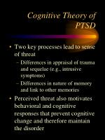 cognitive theory of ptsd