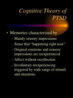 cognitive theory of ptsd1
