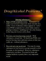 drug alcohol problems