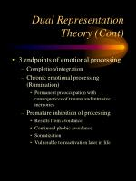 dual representation theory cont