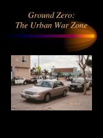 ground zero the urban war zone