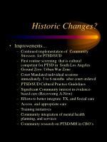 historic changes