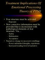 treatment implications of emotional processing theory of ptsd