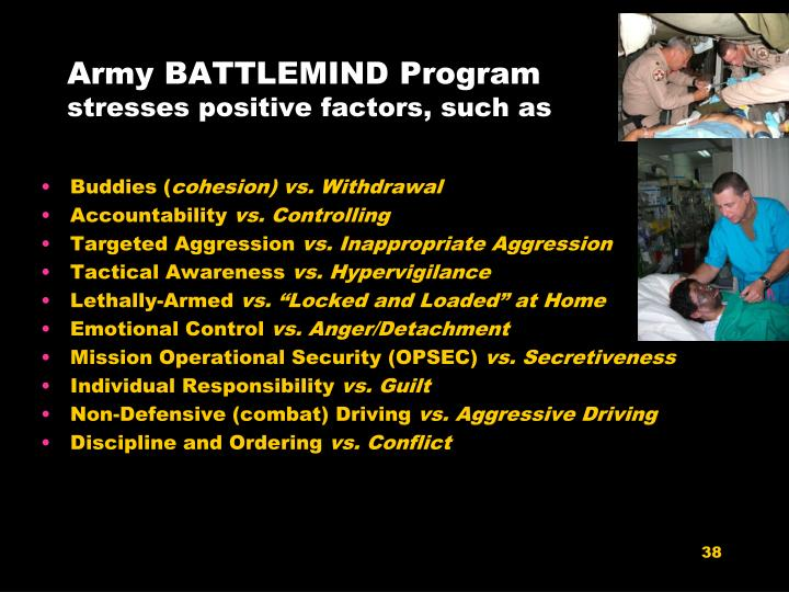 Army BATTLEMIND Program
