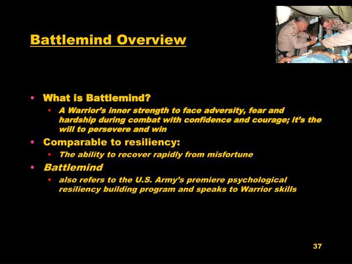 Battlemind Overview