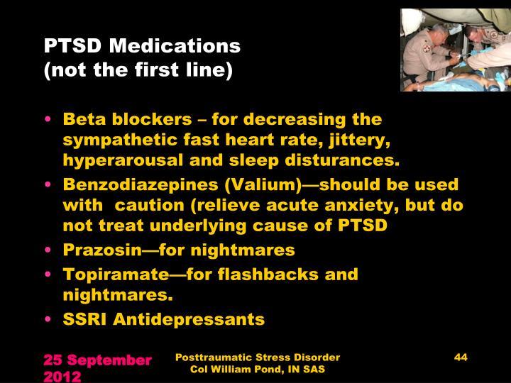 PTSD Medications