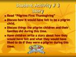 student activity 3 story