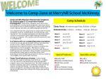 welcome to camp zone at merryhill school mckinney