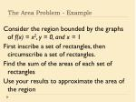 the area problem example
