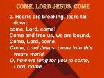 come lord jesus come2