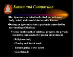 karma and compassion