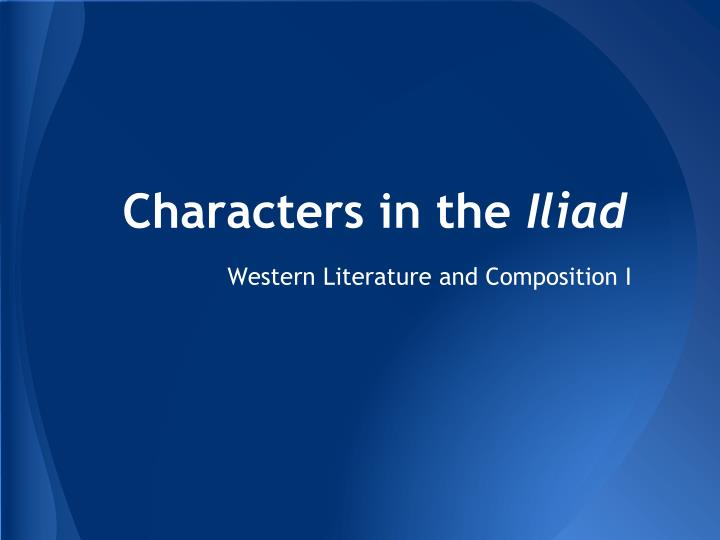iliad assessment Looking to develop content-rich lessons or extend instruction find hundreds of core knowledge lesson plans (preschool-8) created for teachers by teachers.