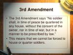 3rd amendment