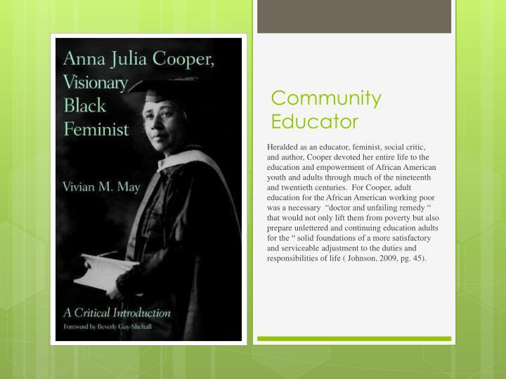 Community Educator