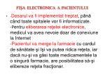 fi a electronica a pacientului