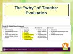 the why of teacher evaluation