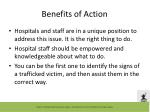 benefits of action
