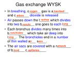 gas exchange wysk