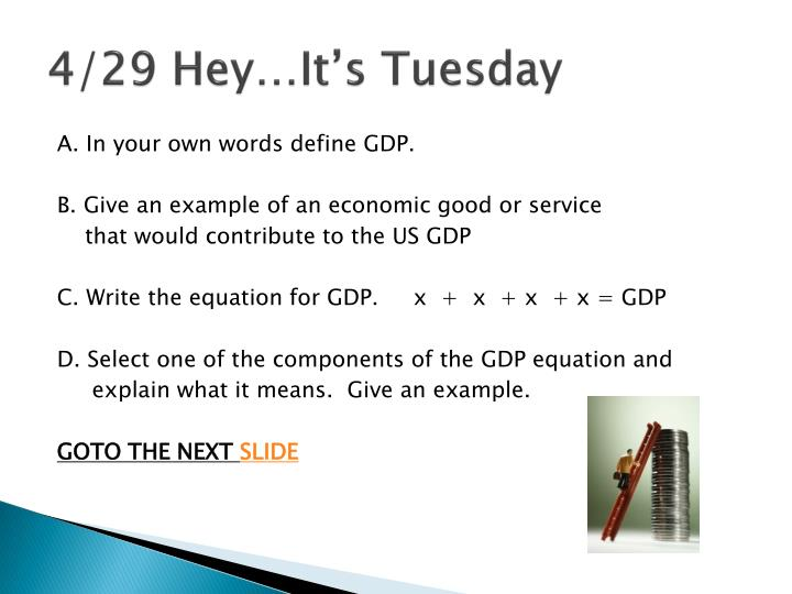 4/29 Hey…It's Tuesday