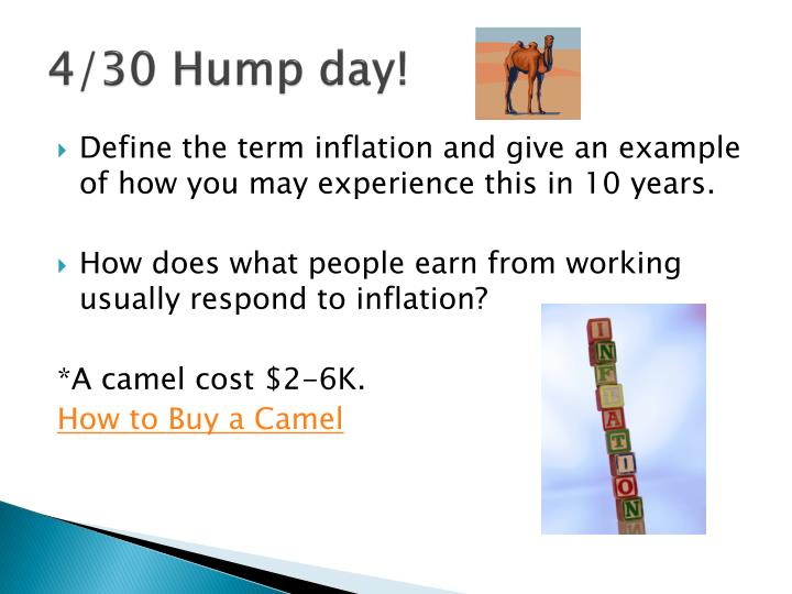 4/30 Hump day!