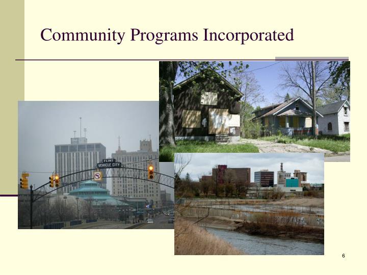 Community Programs Incorporated