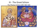 iv the great schism1